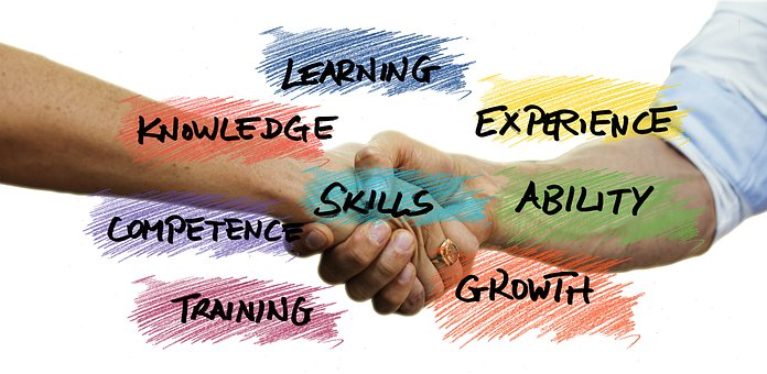 improve your employability skills hand shake and skills