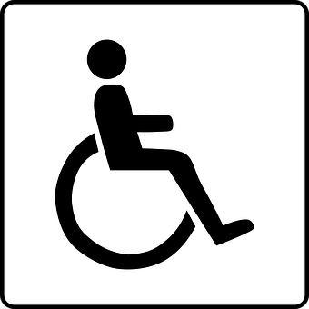 helping people with impairments find a job disability symbol wheelchair
